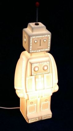 Tesco direct: 3D Ceramic Night Light - Robot