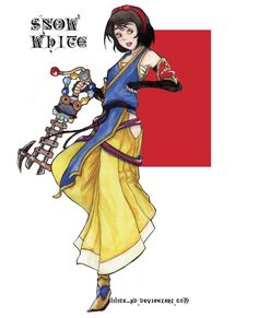 Snow white - KH by lilice-XD.deviantart.com on @deviantART