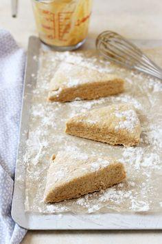 Sweet Potato Scones with Cardamom Glaze