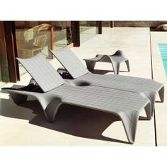 Vondom 60005 Design Sonnenliege Kunststoff F3