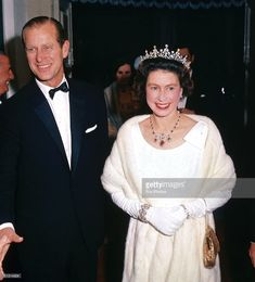 Queen Elizabeth II and Prince Philip arriving at the Manoel Theatre in Valleta, Malta, 1967. (Photo by Fox Photos/Getty Images)