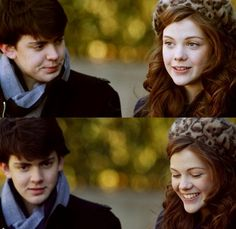 Skandar Keynes and Georgie Henley - skander is one of the cutest boys ever and georgie is one of the prettiest girls ever.
