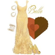 Belle, created by alyssa-eatinger on Polyvore