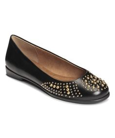 Another great find on #zulily! Black Becxtreme Leather Flat #zulilyfinds