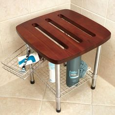 Luxury Shower Stool for Shaving Legs