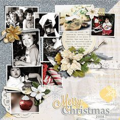 A gorgeous and elegant Christmas digital scrapbooking page kit with gold foil  and glittery sheen for your special holiday memories!  {White Christmas} is available at Gotta Pixel and The Digichick http://www.thedigichick.com/shop/White-Christmas-the-Collection-Bundle-by-Meagan-s-Creations.html http://www.gottapixel.net/store/product.php?productid=10022087&cat=&page=1