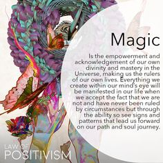 The empowerment, freedom and fearlessness that you felt as a child, knowing that you are invincible, unconditionally loved, powerful and perfect, is the state of being in total power of creating magic in your life. Let go of mental and false restrictions,
