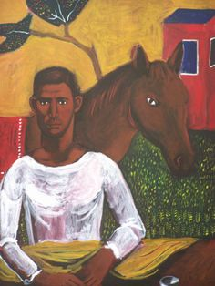 Δημήτρης Λαλέτας (1964-2011) Painter Artist, Greek Art, Conceptual Art, New Art, Printmaking, Horses, Sculpture, Portrait, Male Form