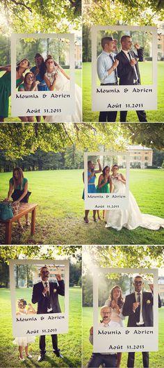 Leuk idee als alternatief voor polaroids ;) #gastenboek #bruiloft