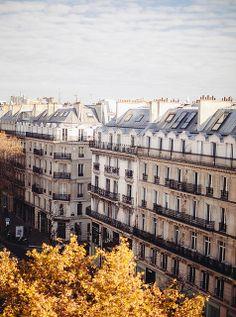 Paris in Autumn (photo by Carrie WishWishWish)