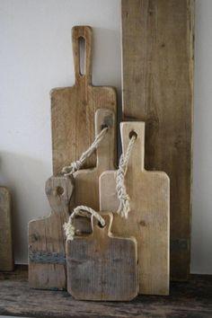 houten serveerplanken