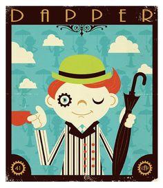 Montygog's Art-O-Rama!: Return of the Dapper Men Pinup