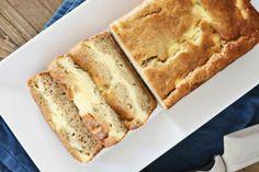 Cream Cheese-Filled Banana Bread via @rasamalaysia/ // #bananbread #creamcheese #banana