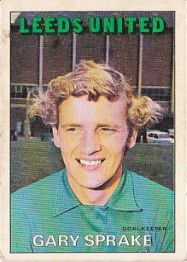 GARY SPRAKE 1972-73 LEEDS UNITED Leeds United, World History, The Unit, Football, Memories, Soccer, Memoirs, Futbol, Souvenirs