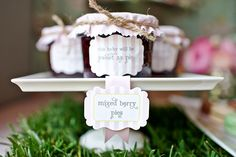 pies in a jar.. wonder if I could make this with old baby food jars