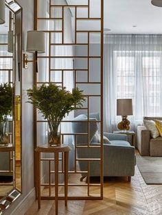 32 Gorgeous and Simple Wood Partition as Room Divider # #Partition