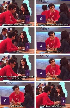 OMG! Doctor who mentioning on ICarly!! How have a never noticed this??!!