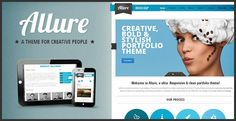 Allure is a premium one page theme for creative professionals and companies looking for a stylish and professional look.Flexible and responsive presentation (works on all devices), 100% Widgetized theme, 50+ Visual Shortcodes, Unlimited Portfolios and much, much more! Allure is the ideal solution for creatives, designers, artists, photographers…