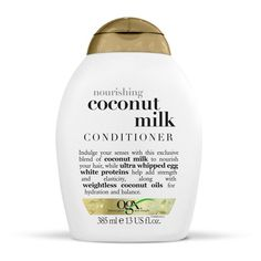 Pin for Later: Go Nutty For Coconut Oil From Head to Toe OGX Coconut Milk Conditioner  OGX Coconut Milk Conditioner (£6)