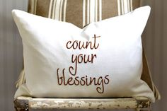 Decorative Pillow Cover Fall Thanksgiving by SuttonPlaceDesigns, $24.00