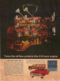 vintage GMC Trucks ad