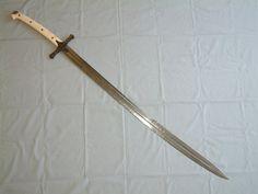 Vince Evans sword based on that of Ottoman Sultan Mehmet II