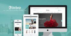 Fitshop WooCommerce WordPress Theme on Behance