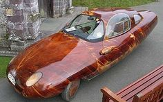 Wooden car goes 100 mph and gets great gas mileage Tyrane II