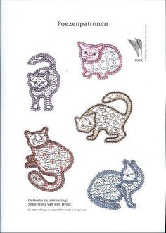 Image result for bobbin lace patterns free Cat Pattern, Free Pattern, Romanian Lace, Bobbin Lacemaking, Lace Art, Bobbin Lace Patterns, Blackwork Embroidery, Point Lace, Lace Jewelry