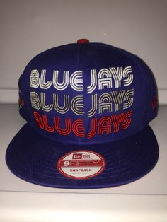 Toronto blue jays title in three colors blue Jay on the side snapback.  Kevin P · Miscellaneous new era caps 26bee3902