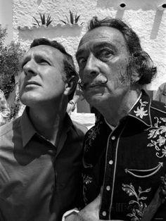 Salvador Dali - Artist - Painter - 1968 Fotografie-Druck bei AllPosters.de
