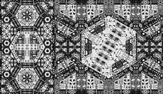 Generative artworks produced by Fleen / John Greene Gödel says you can't program intelligence as complex as yourself.... - but does it float