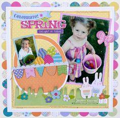 Celebrate Spring - Scrapbook.com