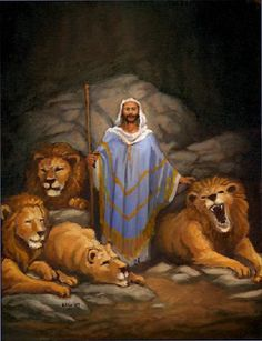 Typical Daniel in the Lion's Den (not...)
