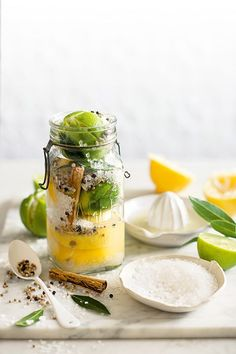 DIY preserved lemons and limes