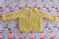 Ravelry: Melika Baby Cardigan Jacket pattern by marianna mel