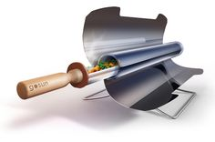 Solar Cooker or Solar Oven that is Fast, Practical and Easy to Use. Good for Camping, BBQ, Green Living, Prepping, Survival, Solar Energy or Power.