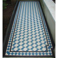 grafham floor tiles, escher-inspired art deco geometric design, perfect for properties built in the and or even contemporary Floor Rugs, Tile Floor, Hall Tiles, Hallway Flooring, Floors And More, Interior And Exterior, Interior Design, Victorian Design, Ceiling Tiles