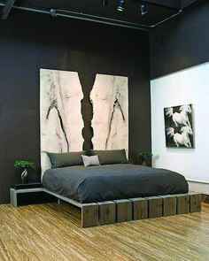 Modern Wood Bed Room Furniture Head Boards 69 New Ideas Art Deco Interior Bedroom, Modern Bedroom Furniture, Wood Bedroom, Bedroom Loft, Diy Bedroom, Bedroom Ideas, Wood Headboard, Bedroom Modern, Bedroom Headboards