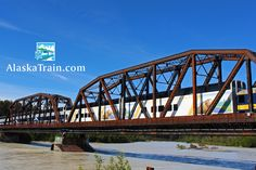 Wilderness Express Dome Train Service | AlaskaTrain.com Wilderness Express crossing the Talktena River
