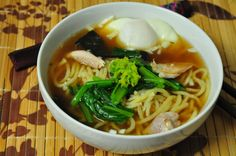 Teuchi Ramen (Ramen at Home), from Japanese Farm Food - recipe tested by @Sheri   Pork Cracklins