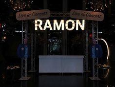 #Ramoninconcert #doosletters #verlichtereclame #reclame #signing #bedrijfsreclame #blsreclame