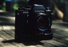 CONTAX RTS フィルム時代の愛用カメラでした・・・ まだ持ってます、でもフィルム売ってない・・・(笑)