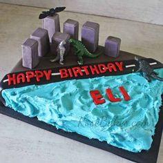 Cakes, Cupcakes, Cookies & Cake Pops Archives - Page 6 of 16 ... Boy Birthday Parties, Birthday Fun, Birthday Party Decorations, Birthday Cakes, Birthday Ideas, Half Birthday, Godzilla Party, Godzilla Birthday Party, Godzilla Vs