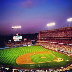 "Dodger Stadium in Los Angeles, CA featured in Rubén Ortiz Torres' ""Los Angeles"". http://www.coleccioncisneros.org/editorial/artists-cities/ruben-ortiz-torres-los-angeles"
