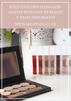 Build Your Own Eyeshadow Palette with Love Me Beauty x Phase Zero Makeup