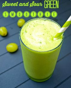 Sweet and Sour Green Smoothie