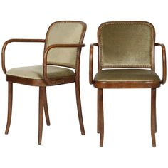 Josef Hoffmann Chairs Model 811 Thonet, 1960s For Sale