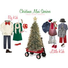 """What to Wear - """"Christmas mini session"""" by savvystylist on Polyvore"""
