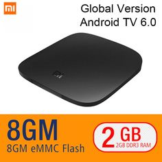 1 X Original xiaomi Mi Box Android TV Box. is a faster way to send video and audio output to your TV. HDR is quickly making its way to TV, first to set-top boxes with Mi Box. Set Top Box, Google Tv, Tv Box, Gadgets Online, Electronics Gadgets, Tech Gadgets, Home Tv, 4k Hd, Smart Tv
